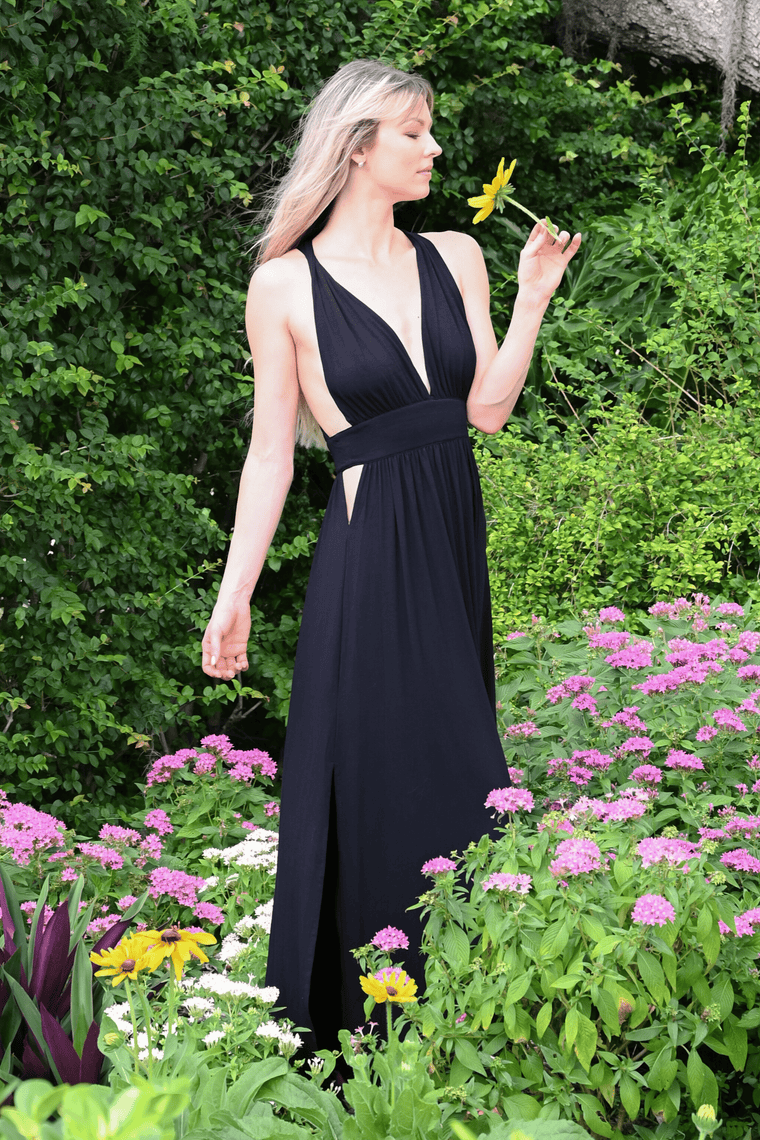 The OM Collection Dress Black / XS Goddess Dress