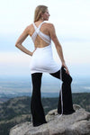 The OM Collection Dress White / XS Macrame Minidress