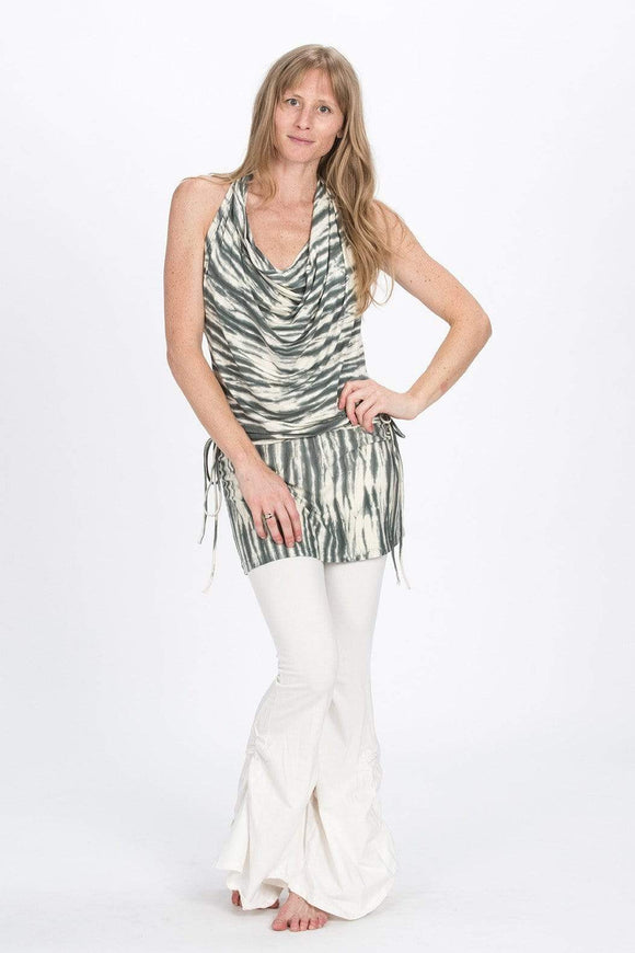 The OM Collection Dress Zebra Tie Dye / XS Backless Dress // Tie Dye Zebra