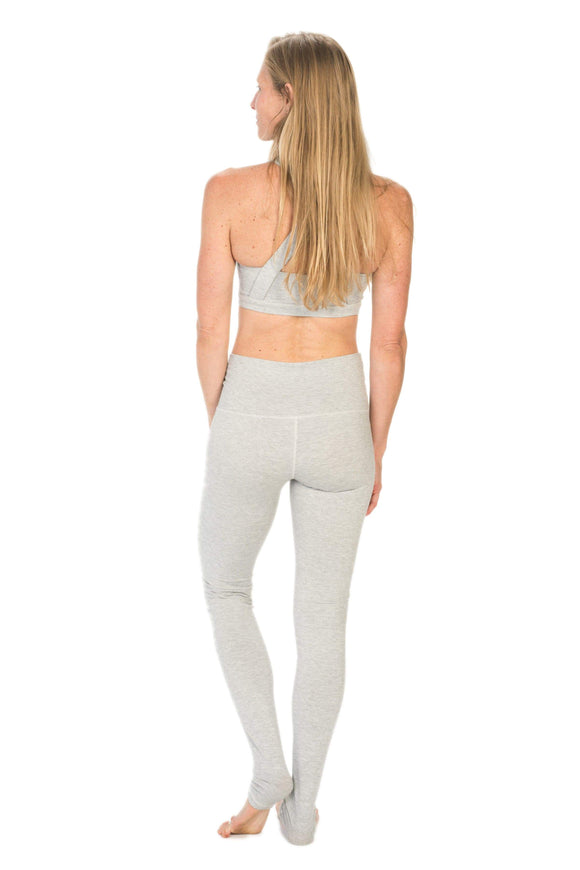 The OM Collection Leggings High Waist Extra Long Leggings // White