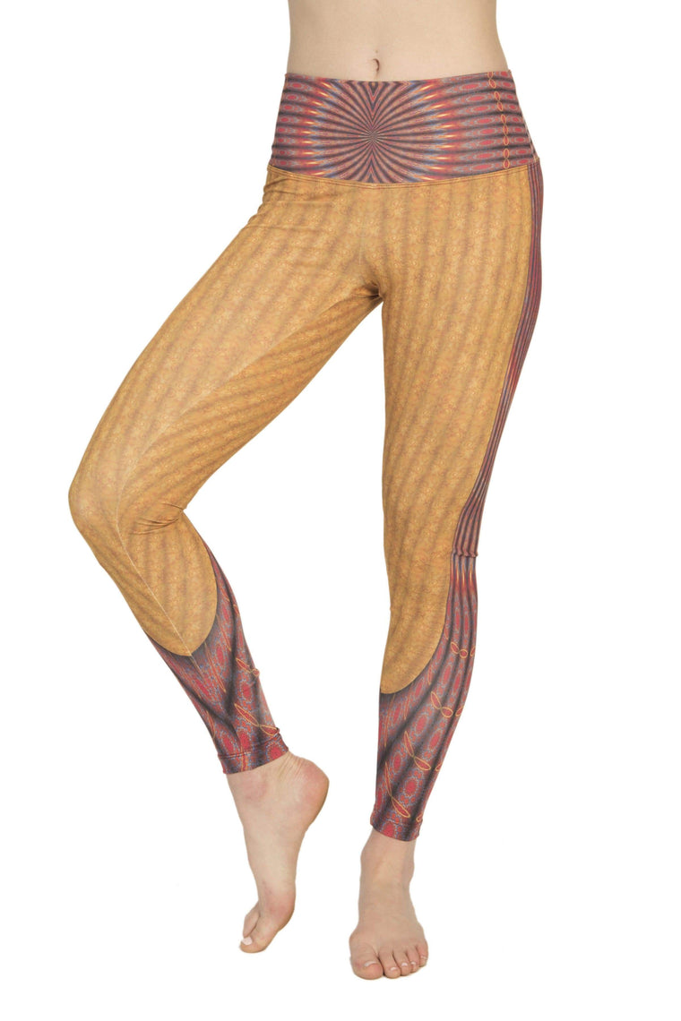 The OM Collection Leggings High Waist Leggings // Marrakech Print