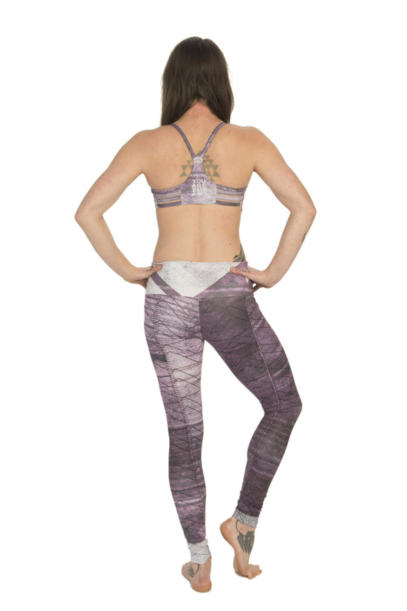 The OM Collection Leggings XXS High Waist Leggings // Urban Mayhem Print