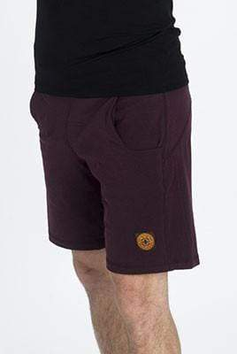 The OM Collection Men's Shorts Maroon / L Men's Pocket Yoga Shorts