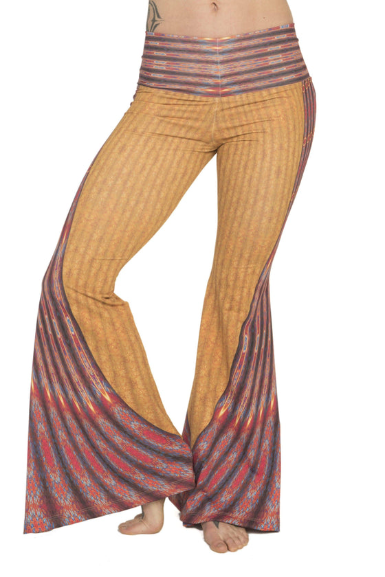 The OM Collection Pants Bell Bottoms // Marrakech Print