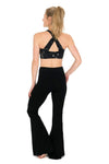 The OM Collection Pants Black / S High Waist Bell Bottom