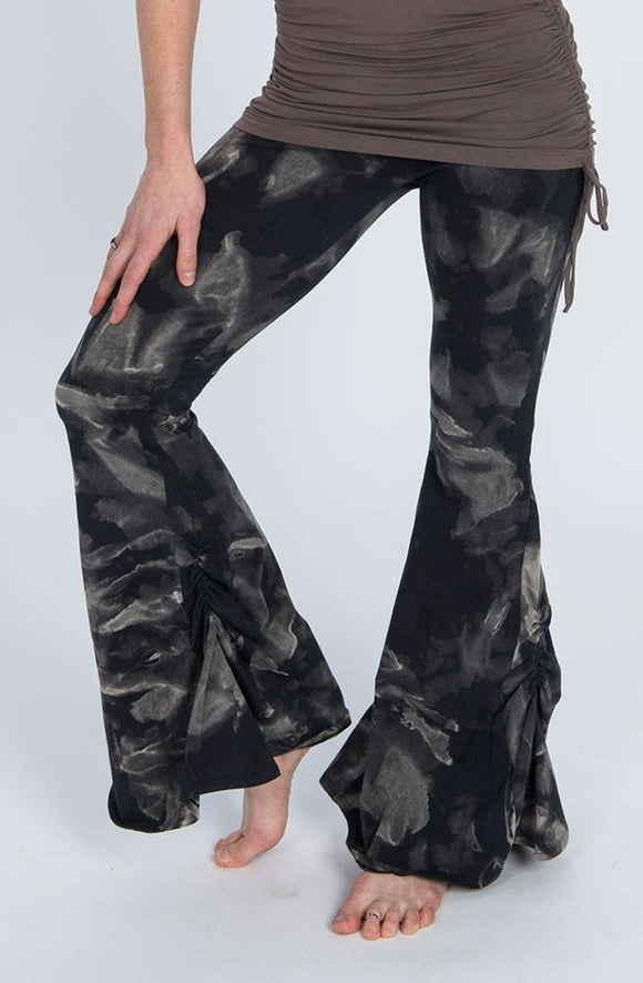 The OM Collection Pants Isabel Bell Bottoms // Organic Cotton Tie Dye