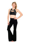 The OM Collection Pants High Waist Bell Bottom