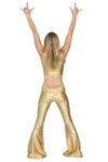 The OM Collection Pants Stardust Bell Bottom // 14 KARAT GOLD