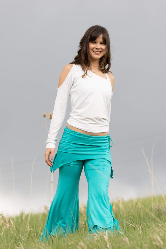 The OM Collection Pants Tosca / S 3 Tier Flow Pants // Monochrome