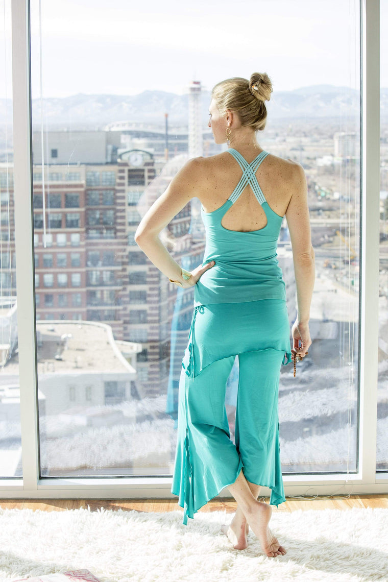 The OM Collection Pants Tosca / XS 2 Tier Flow Pant