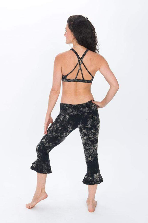 The OM Collection Pants XL Tulip Capri // Organic Cotton Neuron Tie Dye // XL Only