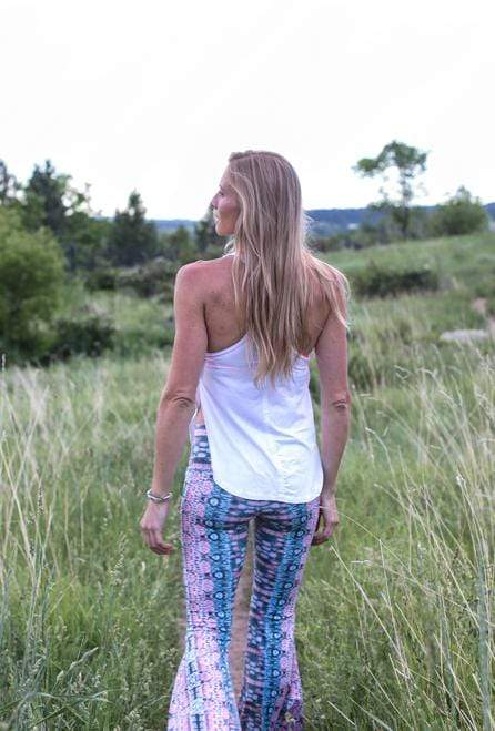 The OM Collection Shirt Freedom T Back Yoga Tank Top