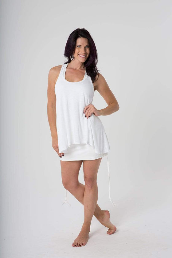 The OM Collection Skirt White / XS OM Mini Skirt