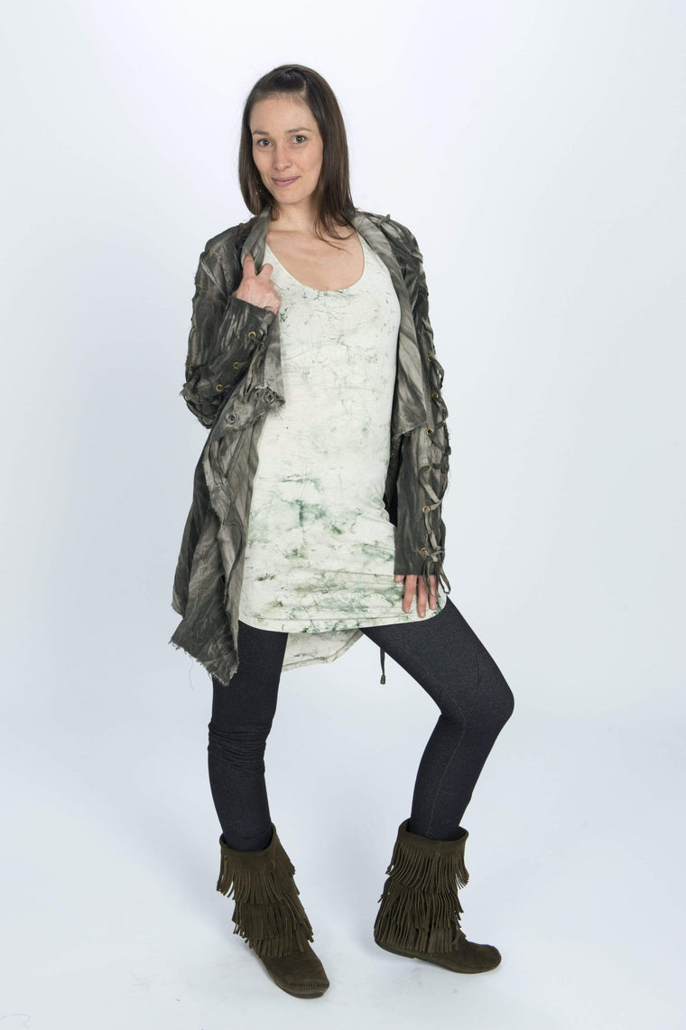The OM Collection Tunic Sample Sale // Crackle Tunic FINAL SALE