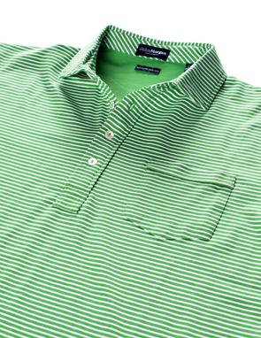 Carolina Ultimate Luxe Stripe Polo