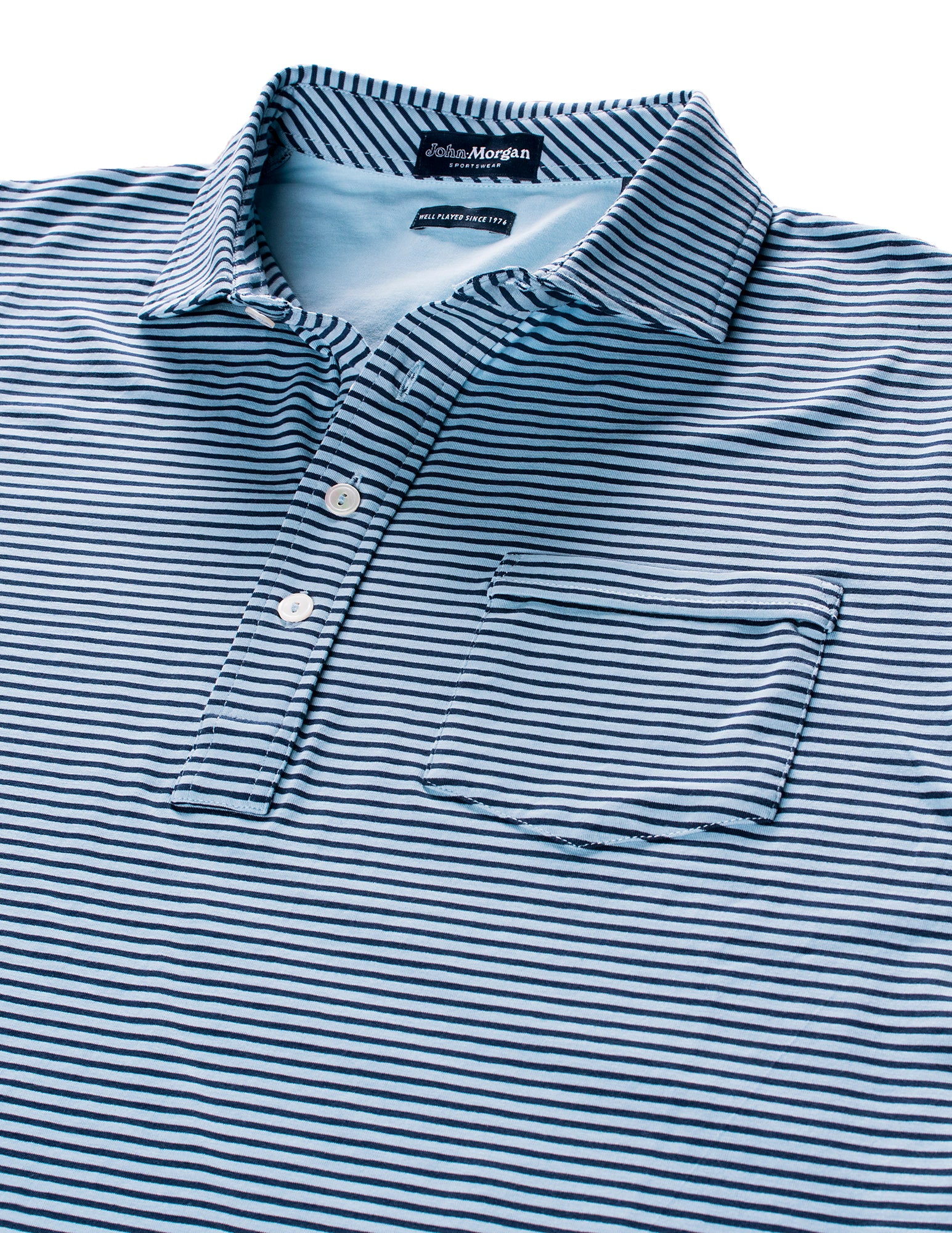 Carolina Club Stripe Polo