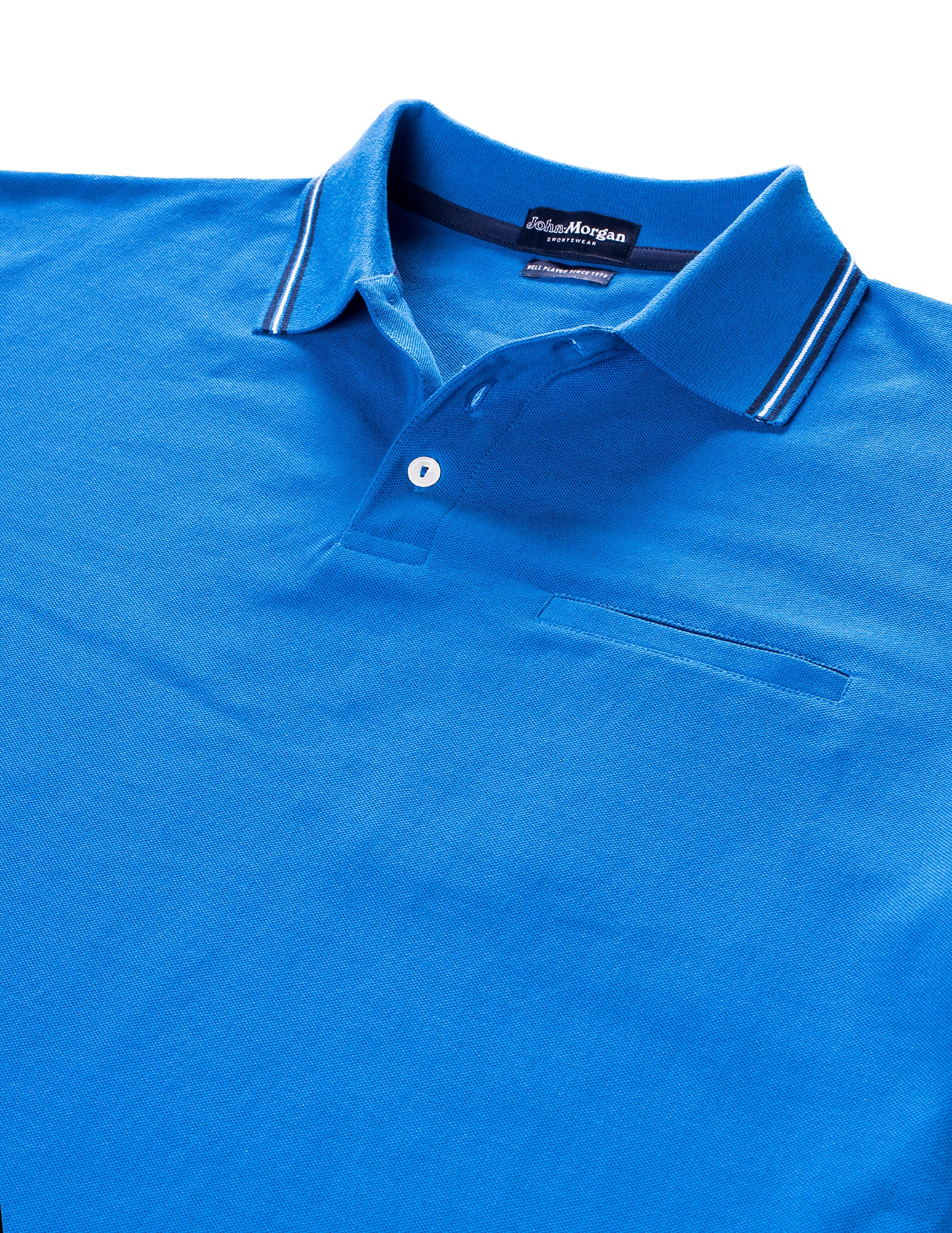 The Match Play Polo - Royal Blue
