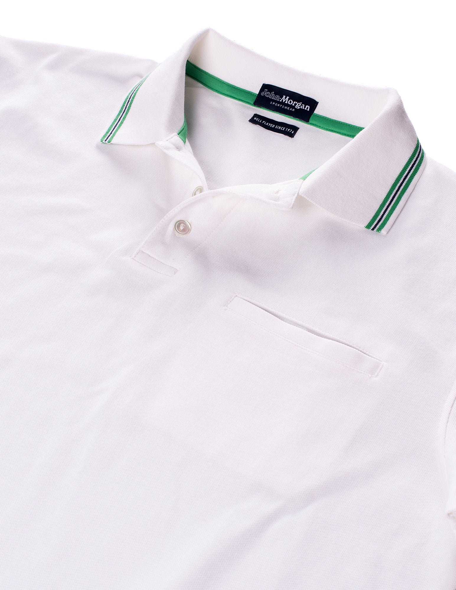 The Match Play Polo - White
