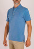 Dunlap Stripe Polo - Riverside