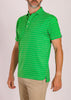 Dunlap Stripe Polo - Leaf