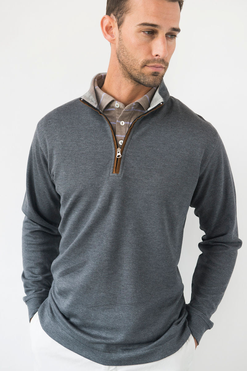 Morgan Soft Touch Quarter Zip