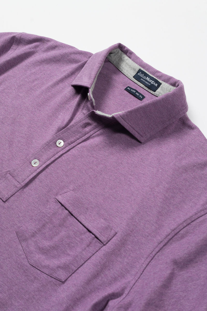 Ryan Luxe Polo with Pocket