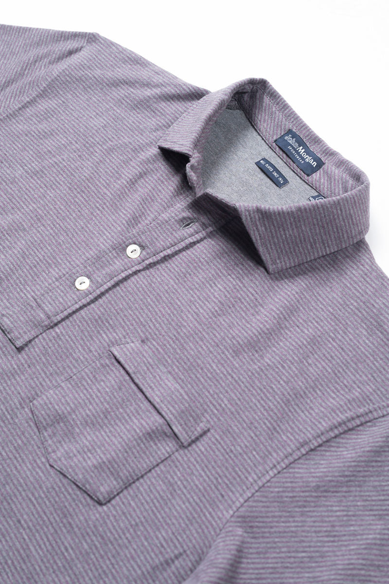 Tate Soft Touch Polo Even Stripe