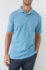 Whisper Vintage Pique Polo with Pocket - Amalfi