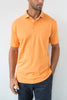 Whisper Vintage Pique Polo with Pocket - Sunrise