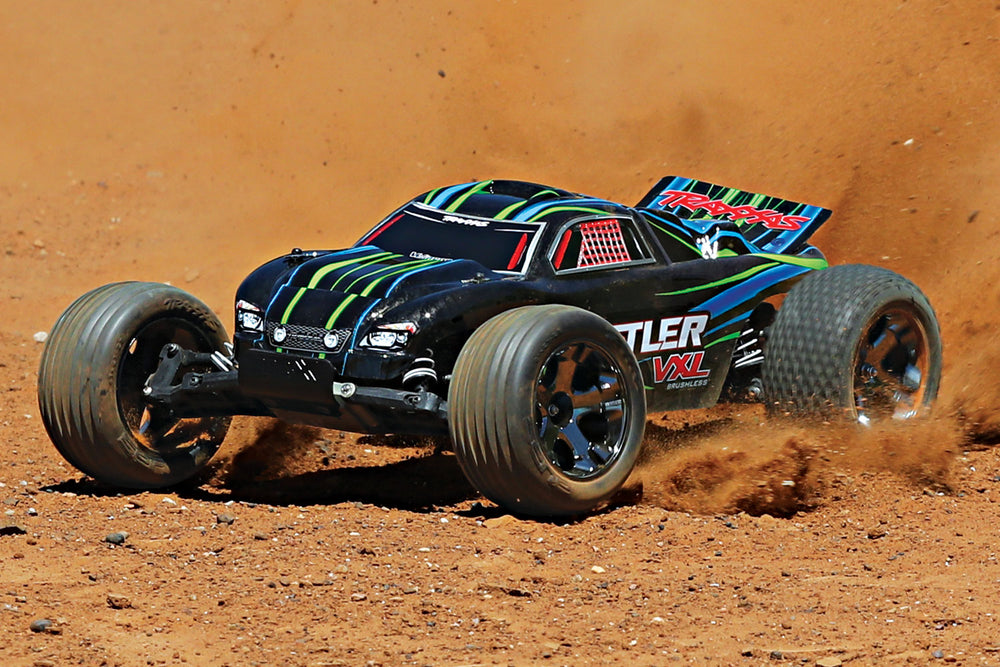 Rustler VXL: 1/10 Scale 2WD Brushless Stadium Truck