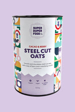 Cacao & Berry Steel Cut Oats - 500g