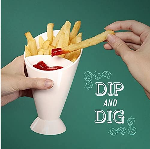 French Fry dipping cone