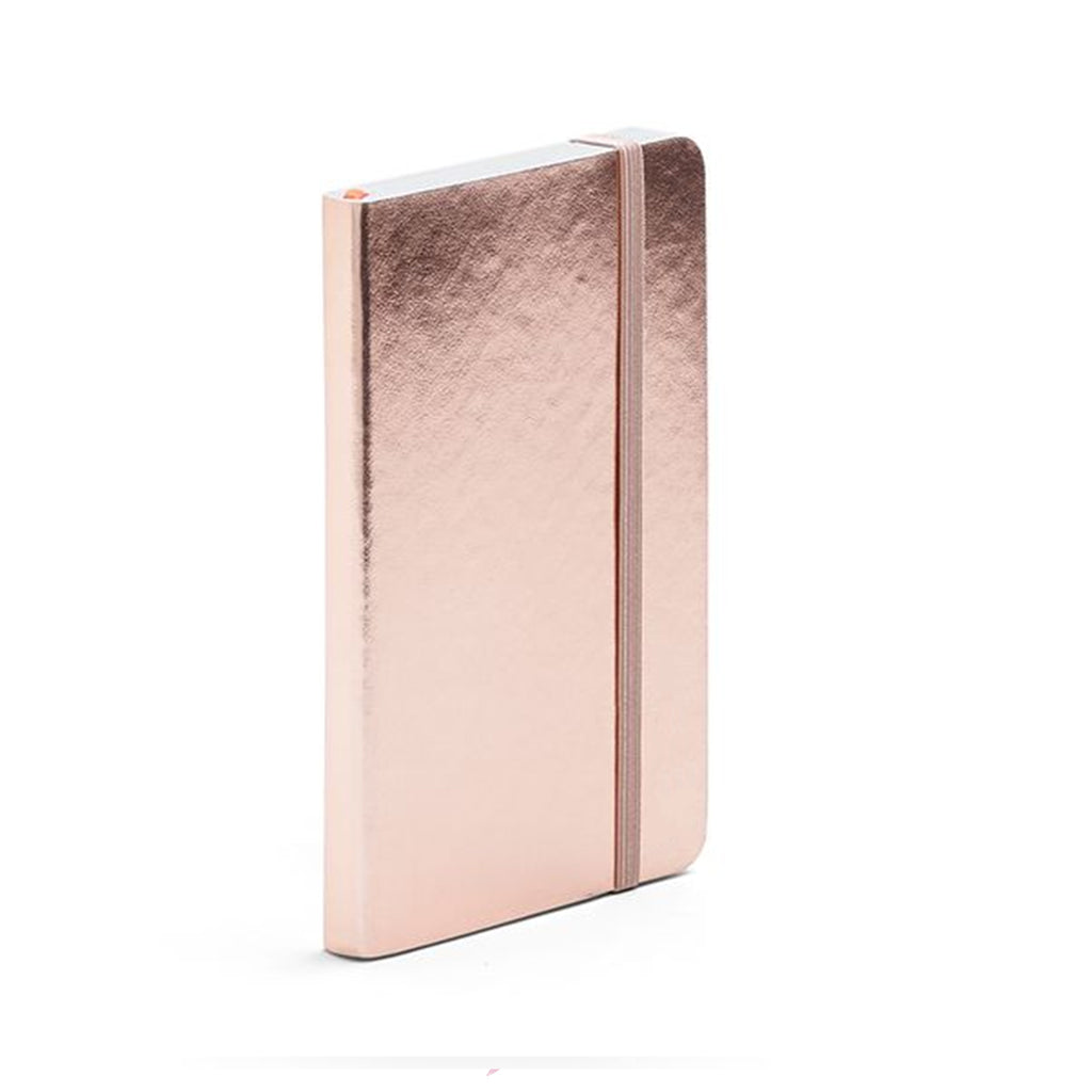 note book rose gold