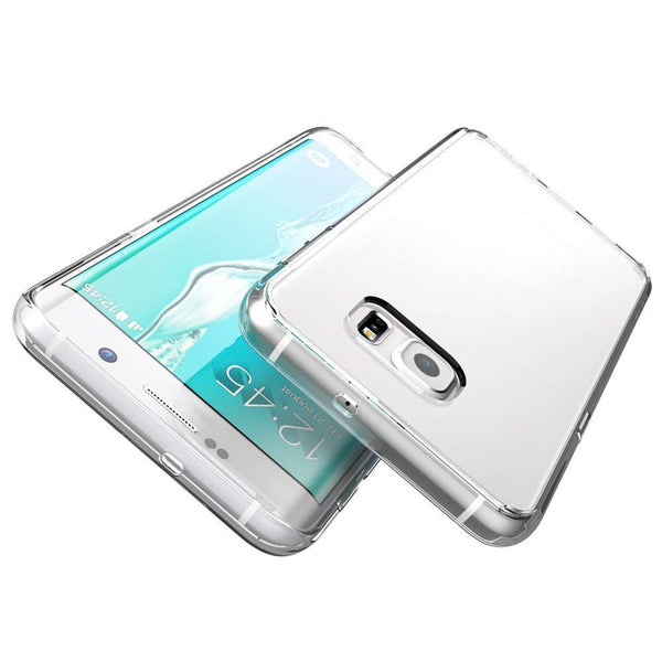 Coque en silicone transparente S6 edge plus tunisie