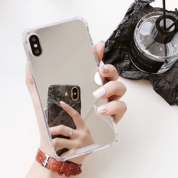 Coque Silver Miroir iPhone