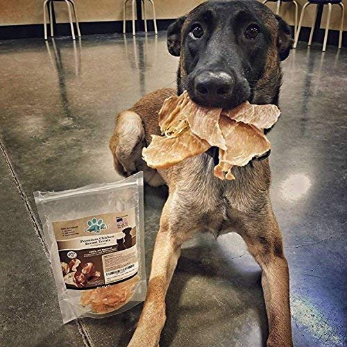 Dog Jerky Treats - Premium Chicken - Dog Treats Made in USA Only. All Natural