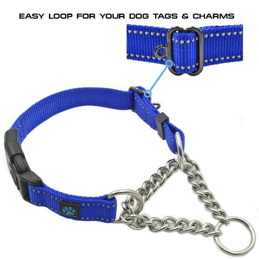 Stainless Steel Chain Martingale Collar