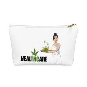 """HealTHCare"" Accessory Pouch w T-bottom"