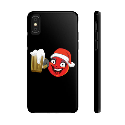 Female Christmas Beer Emoji Case Mate Tough Phone Cases by Bigbadmoji Cell Phones & Accessories Cases