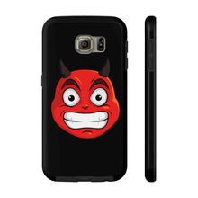 Load image into Gallery viewer, Male Cringing Devil Emoji Case Mate Tough Phone Cases by Badmoji Cell Phones & Accessories Cases