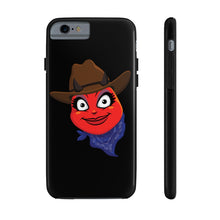 Load image into Gallery viewer, Female Country Cowgirl Hat Devil Emoji Case Mate Tough Phone Cases by Badmoji Cell Phones & Accessories Cases