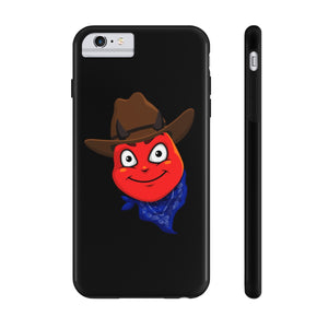 Male Country Cowboy Hat Devil Emoji Case Mate Tough Phone Cases by Badmoji Cell Phones & Accessories Cases