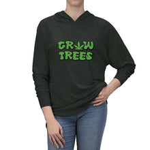 "Load image into Gallery viewer, ""Grow Trees"" Unisex Tri-Blend Hoodie"