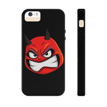 Load image into Gallery viewer, Female Angry Devil Emoji Case Mate Tough Phone Cases by Badmoji Cell Phones & Accessories Cases