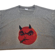 Load image into Gallery viewer, Smoking Party Nasty Nate Devil Emoji T-shirt by Badmoji