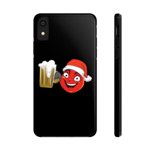 Male Christmas Beer Emoji Case Mate Tough Phone Cases by Badmoji Cell Phones & Accessories Cases