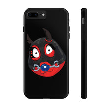 Load image into Gallery viewer, Female Ball Gag BDSM Kinky Dominatrix Devil Emoji Case Mate Tough Phone Cases by Bigbadmoji Cell Phones & Accessories Cases