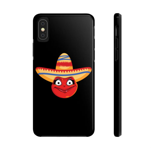 Female Cinco De Mayo Mexican Emoji Case Mate Tough Phone Cases by Bigbadmoji Cell Phones & Accessories Cases