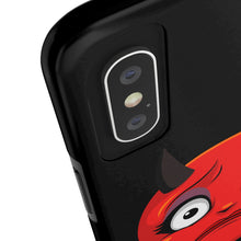 Load image into Gallery viewer, Female Concerned Worried Devil Emoji Case Mate Tough Phone Cases by Bigbadmoji Cell Phones & Accessories Cases