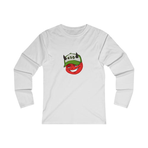 420 Nasty Nate Women's Fitted Long Sleeve Tee